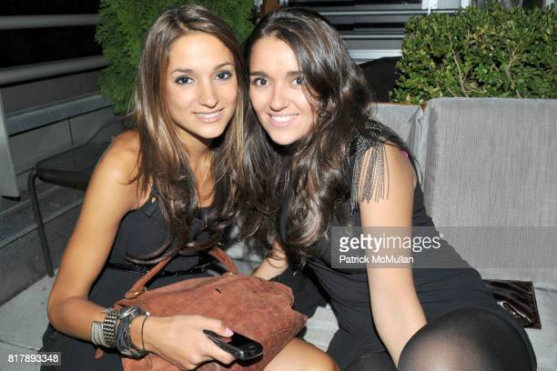 Noora Rahim and Artemis Azima attend ASSOCIATION to BENEFIT CHILDREN Junior Committee Fundraiser at Gansevoort Hotel on September 14 2010 in New York...