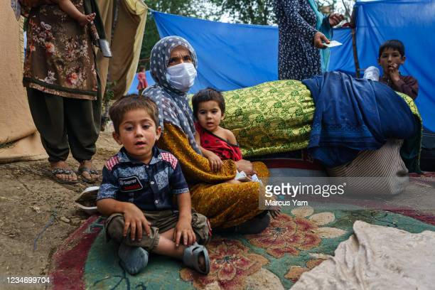 Nooria decided to leave after the fighting in Kunduz arrived in her home, when a rocket landed in her house and injured her son in his leg and might...