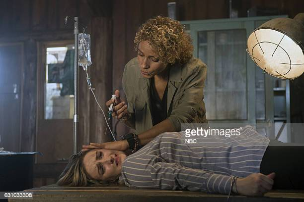 BLINDSPOT Nor I Nigel AKA Leg In Iron Episode 210 Pictured Ashley Johnson as Patterson Michelle Hurd as Sheperd