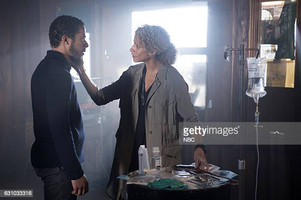 "Nor I, Nigel, AKA Leg In Iron"" Episode 210 -- Pictured: Ukweli Roach as Dr. Robert Borden, Michelle Hurd as Sheperd --"