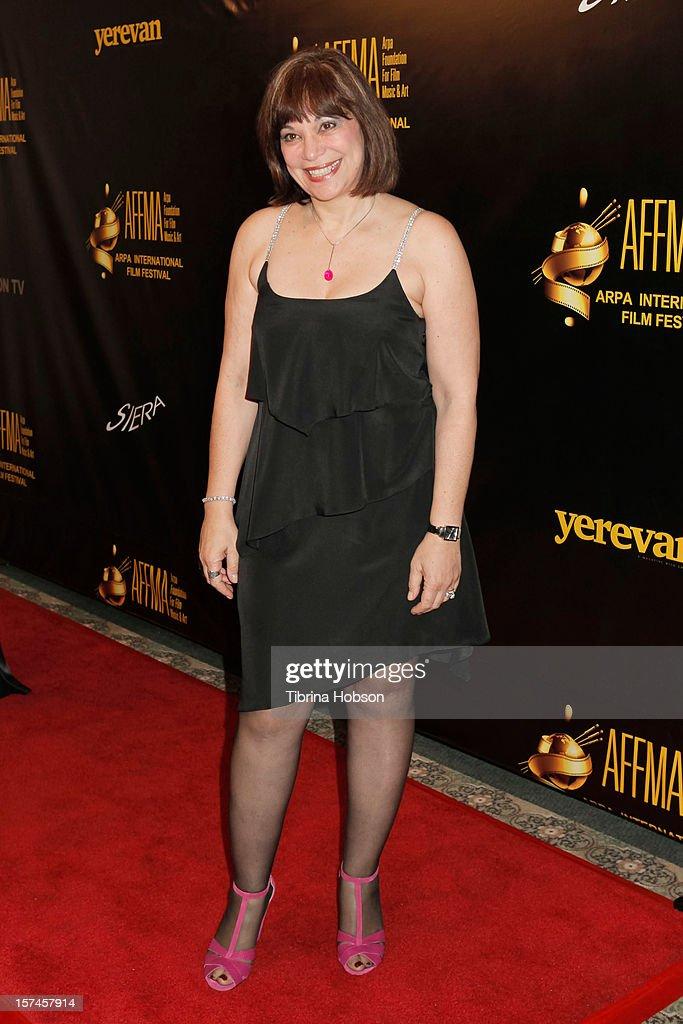 Nora Armani attends the Arpa International Film Festival closing night gala at Sheraton Hotel on December 2, 2012 in Universal City, California.