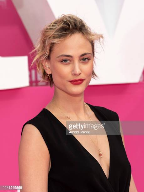 Nora Arnezeder attends day five of the 2nd Canneseries International Series Festival on April 09 2019 in Cannes France