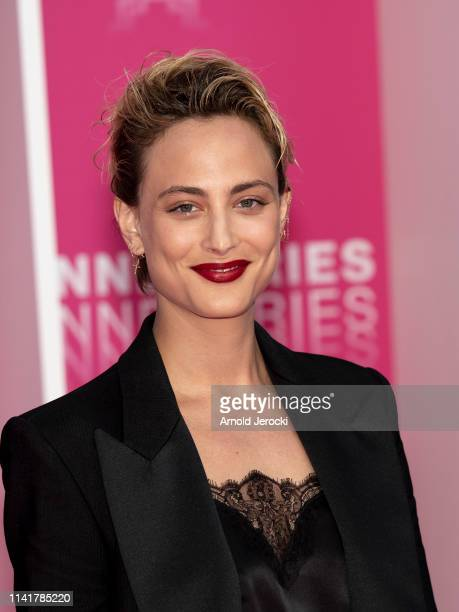 Nora Arnezeder attends the 2nd Canneseries International Series Festival Closing Ceremony on April 10 2019 in Cannes France