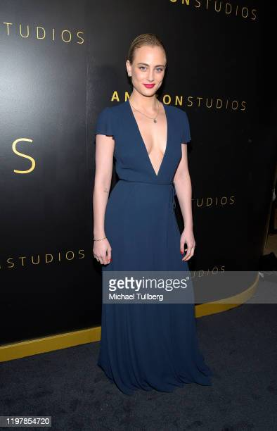 Nora Arnezeder attends the Amazon Studios Golden Globes after party at The Beverly Hilton Hotel on January 05 2020 in Beverly Hills California