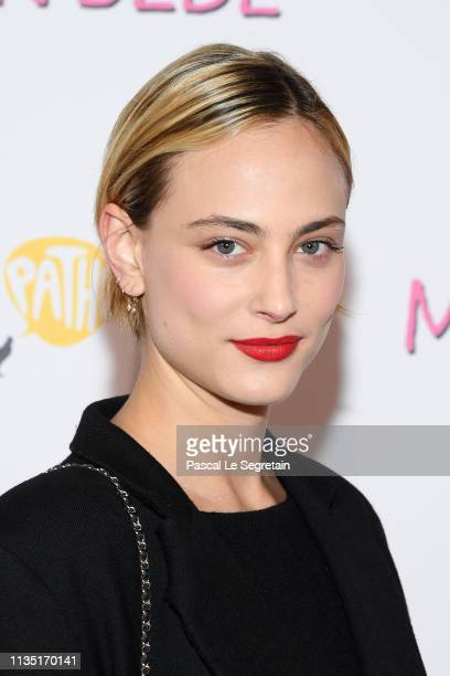 Nora Arnezeder attends the Mon Bebe Paris Premiere At Cinema Gaumont on March 11 2019 in Paris France