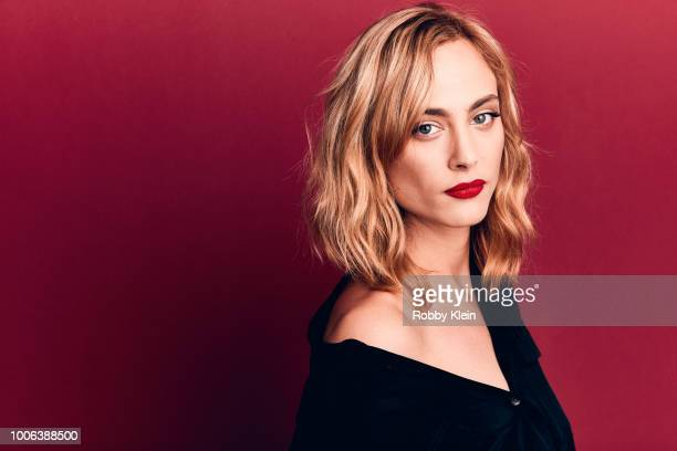 Nora Arnezeder of YouTube's 'ORIGIN' poses for a portrait during the 2018 Summer Television Critics Association Press Tour at The Beverly Hilton...