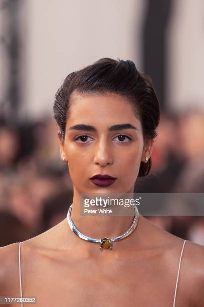 Nora Attal walks the runway during the Chloe Womenswear Spring/Summer 2020 show as part of Paris Fashion Week on September 26, 2019 in Paris, France.