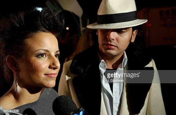 Nora Caliguri and Mario Cadenas are designer/contestants on Bravo's new reality series Project Runway