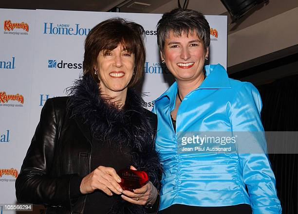 Nora Ephron and Diane Salvatore, editor-in-chief of Ladies' Home Journal
