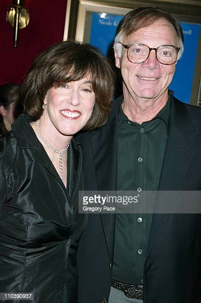 """Nora Ephron and husband Nick Pileggi during """"Bewitched"""" New York City Premiere - Inside Arrivals at Ziegfeld Theater in New York City, New York,..."""