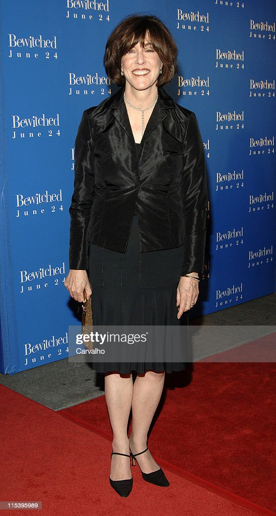 Nora Ephron during 'Bewitched' New York City Premiere - Arrivals at Ziegfield Theater in New York City, New York, United States.