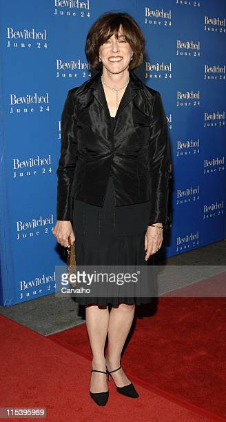 """Nora Ephron during """"Bewitched"""" New York City Premiere - Arrivals at Ziegfield Theater in New York City, New York, United States."""
