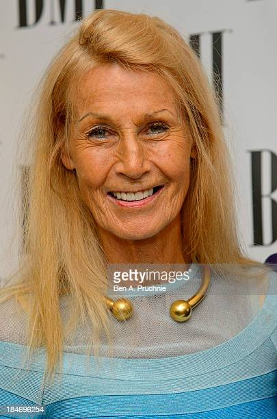 Nora Forster attends the BMI Awards at The Dorchester on October 15 2013 in London England