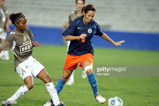 Nora Hamou Maamar Montpellier / Standard de Liege 16e finale Champions League