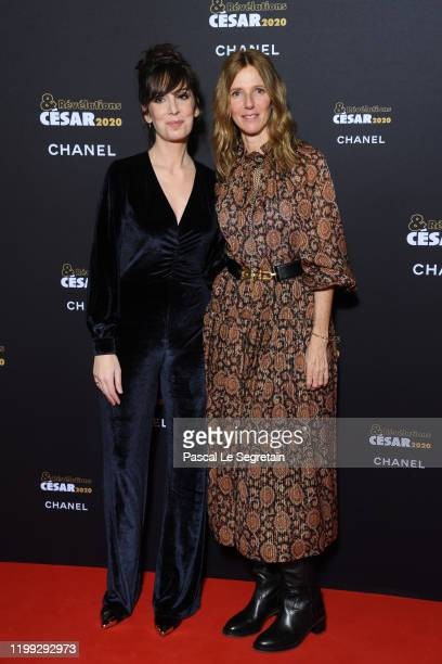 Nora Hamzawi and Sandrine Kiberlain attend the Cesar Revelations 2020 Photocall at Petit Palais on January 13 2020 in Paris France