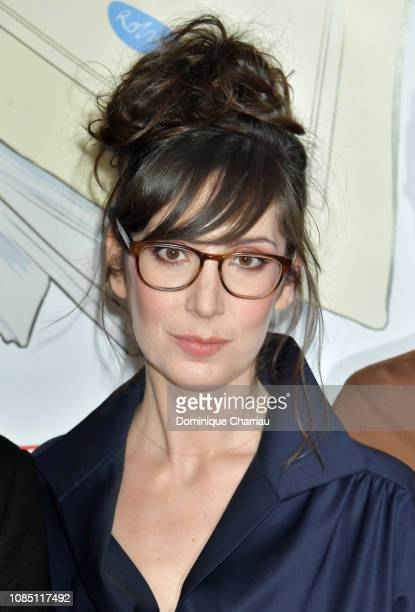 Nora Hamzawi attends Doubles Vies Paris Premiere at UGC Cine Cite des Halles on December 20 2018 in Paris France