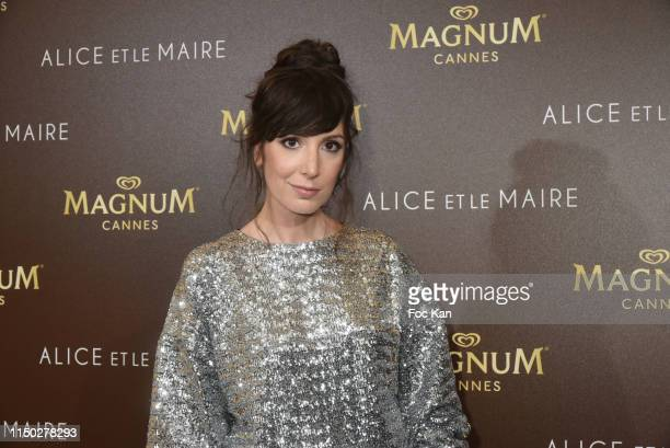 Nora Hamzawi attends the Alice et Monsieur Le Maire Premiere Party at Magnum during the 72nd annual Cannes Film Festival on May 18 2019 in Cannes...
