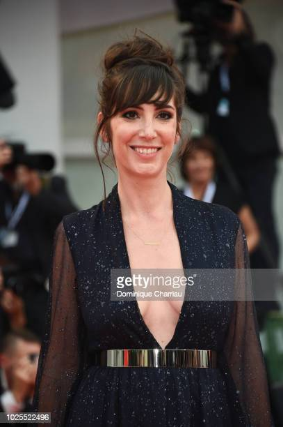 Nora Hamzawi walks the red carpet ahead of the 'Doubles Vies ' screening during the 75th Venice Film Festival at Sala Grande on August 31 2018 in...