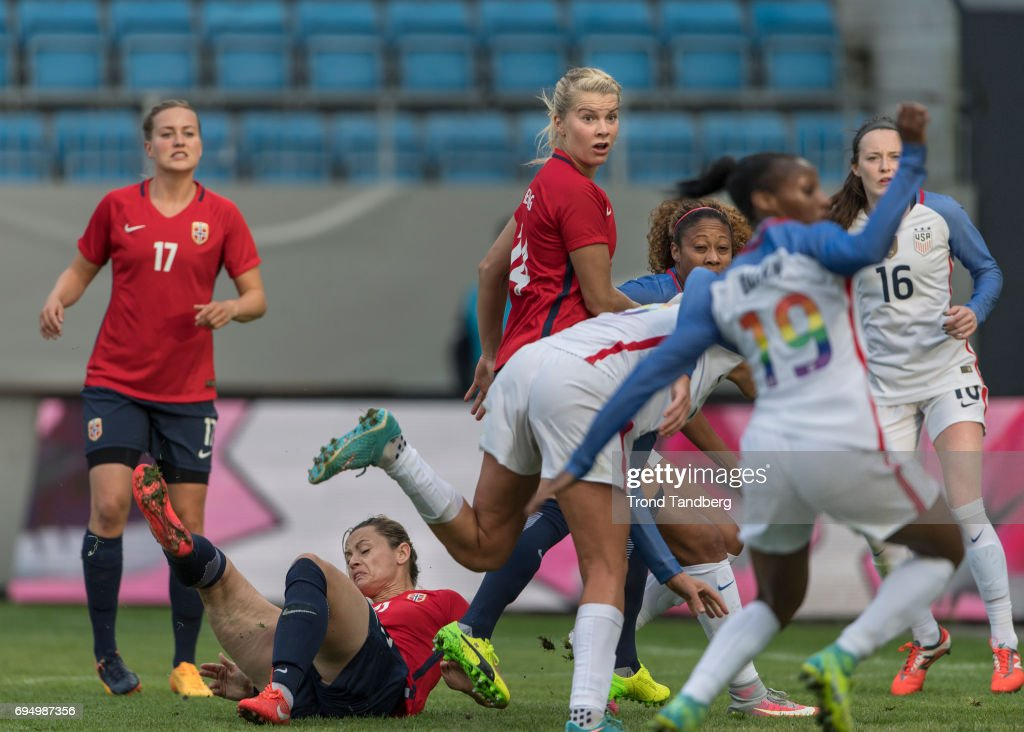 Norway Women v USA Women - International Friendly