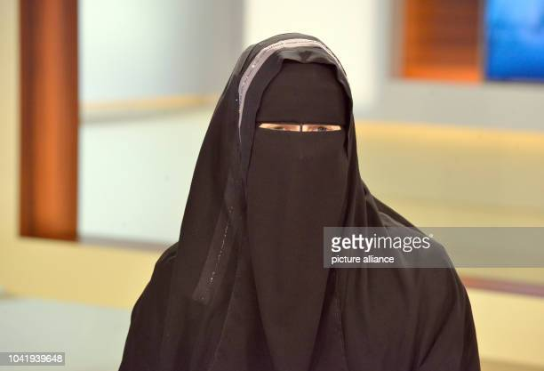 Nora Illi women's representative of the Islamic Central Council of Switzerland during the ARD talk show Anne Will on the topic My life for Allah Why...