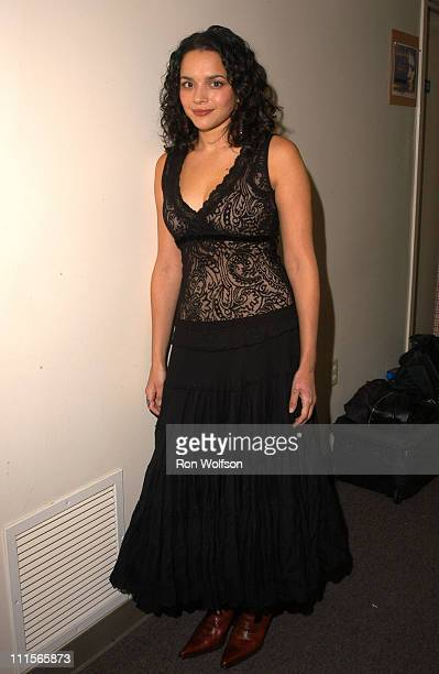 Nora Jones during I Walk the Line A Night for Johnny Cash Day 2 at Pantages in Los Angeles California United States