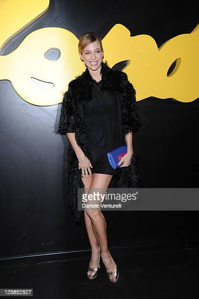 Nora Mogalle attends Fendi O' party during Milan Fashion Week Menswear A/W 2011 on January 17 2011 in Milan Italy