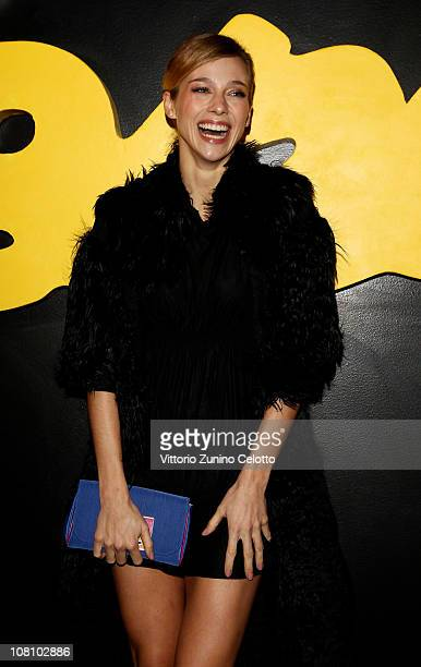 Nora Mogalle attends the Fendi O' Party during Milan Fashion Week Menswear A/W 2011 on January 17 2011 in Milan Italy