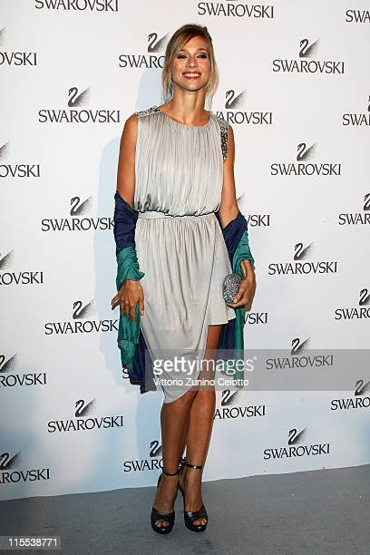 Nora Mogalle attends the Swarovski Fashionation at Palazzo Reale on June 7 2011 in Milan Italy