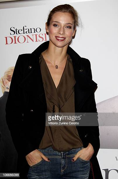 Nora Mogalle attends the Ti Presento Un Amico Milan Premiere held at Cinema Apollo on November 10 2010 in Milan Italy