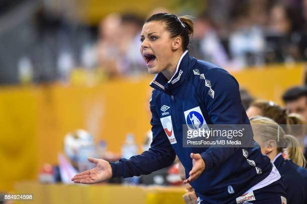 Nora Mork of Norway during IHF Women's Handball World Championship group B match between Argentina and Norway on December 03 2017 in...