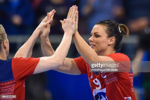 Nora Mork of Norway in action during IHF Women's Handball World Championship group B match between Norway and Hungary on December 02 2017 in...