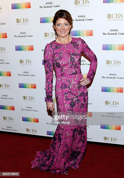 Nora O'Donnell attends the 38th Annual Kennedy Center Honors Gala at John F Kennedy Center for the Performing Arts on December 6 2015 in Washington DC