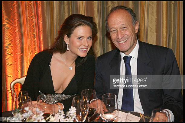 Nora Sabrier Thierry Gaubert at The Gala Evening In Aid Of La Maison De Solenn At The Theatre Marigny Followed By A Dinner At Pavillion Ledoyen