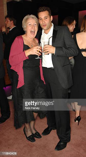 Nora Sands and Dane Bowers during The Cosmopolitan Fun Fearless Female Awards with Olay at The Bloomsbury Ballroom in London Great Britain