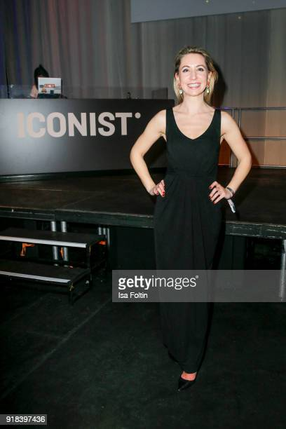 Nora Stolz during the Young ICONs Award in cooperation with ICONIST at SpindlerKlatt on February 14 2018 in Berlin Germany