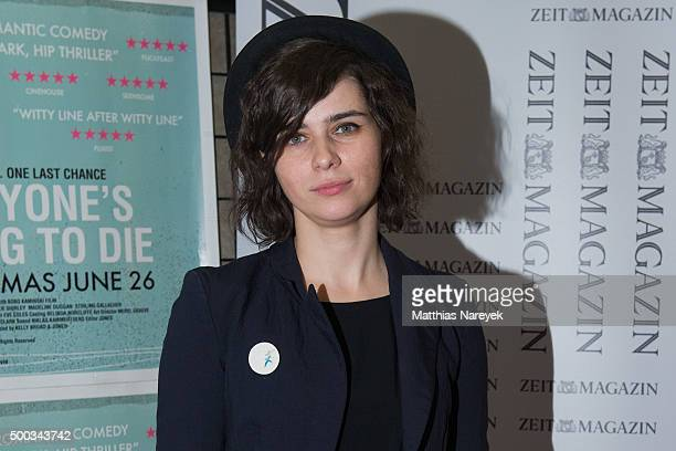 Nora Tschirner attends the 'Everyone's going to die' photo call at Babylon on December 7 2015 in Berlin Germany