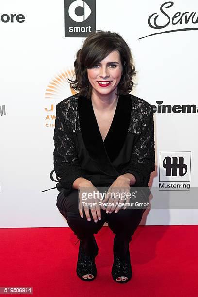 Nora Tschirner attends the Jupiter Award 2016 on April 6 2016 in Berlin Germany