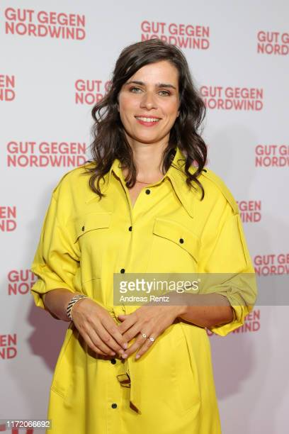 Nora Tschirner attends the world premiere of the movie Gut gegen Nordwind at Cinedom on September 03 2019 in Cologne Germany
