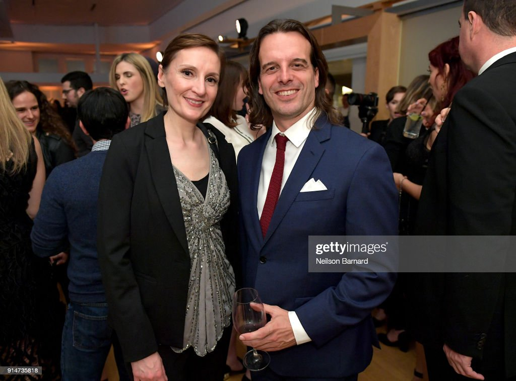 Nora Twomey and Anthony Leo attend The Hollywood Reporter 6th Annual