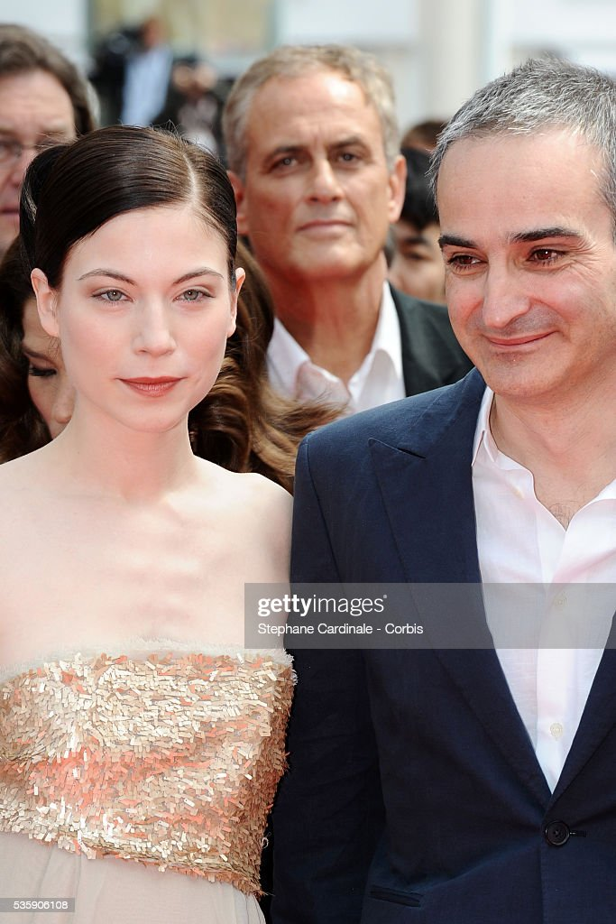Nora Von Waldstaett and Olivier Assayas attend the 'Carlos' Premiere during the 63rd Cannes International Film Festival.