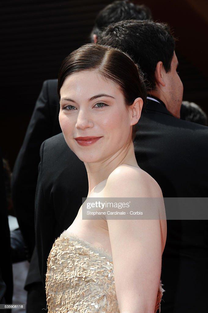 Nora Von Waldstaett attends the 'Carlos' Premiere during the 63rd Cannes International Film Festival.
