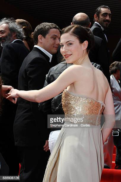 Nora Von Waldstaett attends the 'Carlos' Premiere during the 63rd Cannes International Film Festival