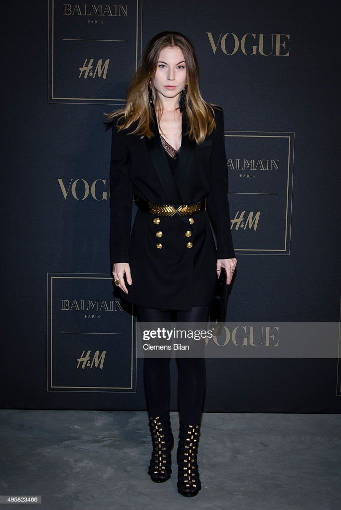 BALMAIN x H&M Berlin Launch Party