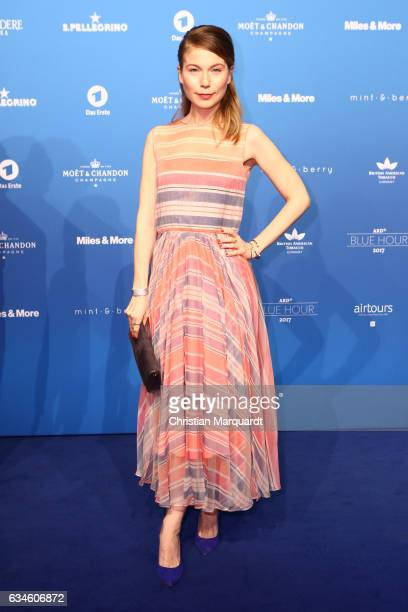 Nora von Waldstaetten attends the Blue Hour Reception hosted by ARD during the 67th Berlinale International Film Festival Berlin on February 10 2017...