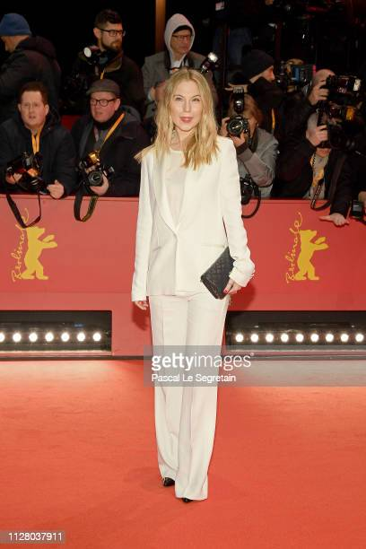 Nora von Waldstaetten attends the The Kindness Of Strangers premiere during the 69th Berlinale International Film Festival Berlin at Berlinale Palace...