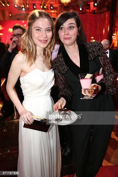 Nora von Waldstaetten Nora Tschirner during the 26th ROMY Award 2015 at Hofburg Vienna on April 25 2015 in Vienna Austria