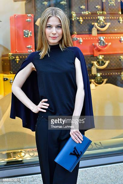 Nora von Waldstaetten pictured at the Louis Vuitton Global Store Opening on May 6 2014 in Frankfurt am Main Germany