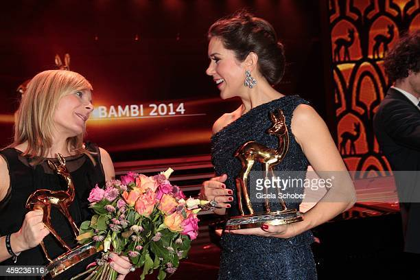 Nora Weisbrod Crown Princess Mary of Denmark during the Bambi Awards 2014 show on November 13 2014 in Berlin Germany