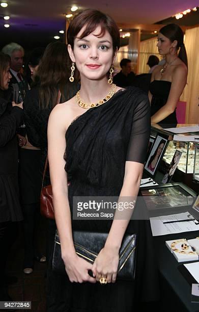 Nora Zehetner at Celebrity Fundraiser for American Heart Association at Fred Segal on December 10 2009 in Santa Monica California