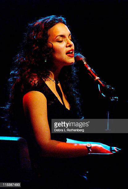 Norah Jones during Norah Jones In Concert June 6 2002 at Town Hall in New York City New York United States